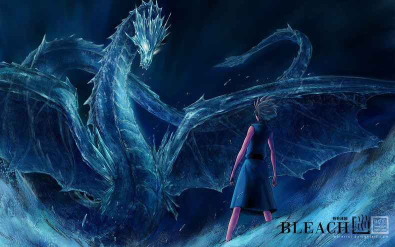 Ice Dragon   Bleach Wallpapers theAnimeGallerycom 790x494