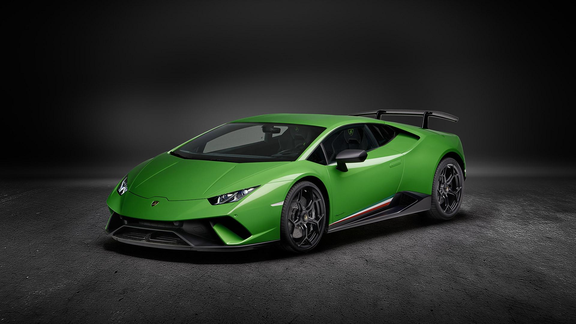 2018 Lamborghini Huracan Performante Wallpapers HD Images 1920x1080