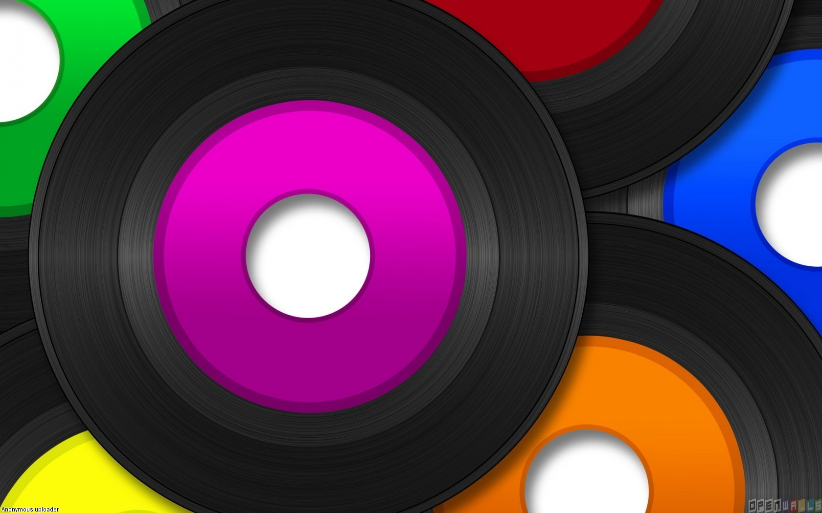 Vinyl records wallpaper 18453   Open Walls 1680x1050