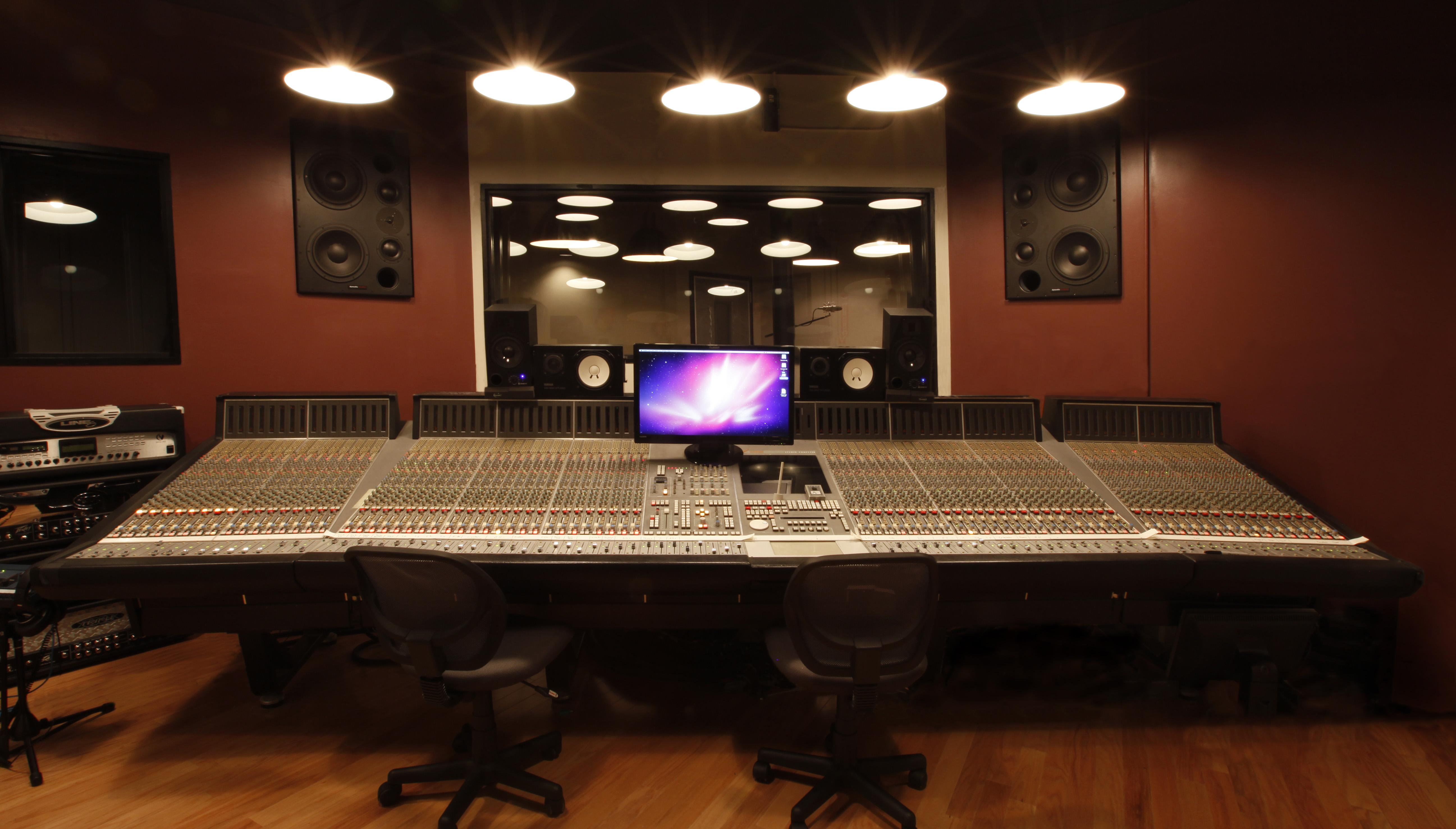Strange Music Studio Wallpaper Wallpapersafari Largest Home Design Picture Inspirations Pitcheantrous