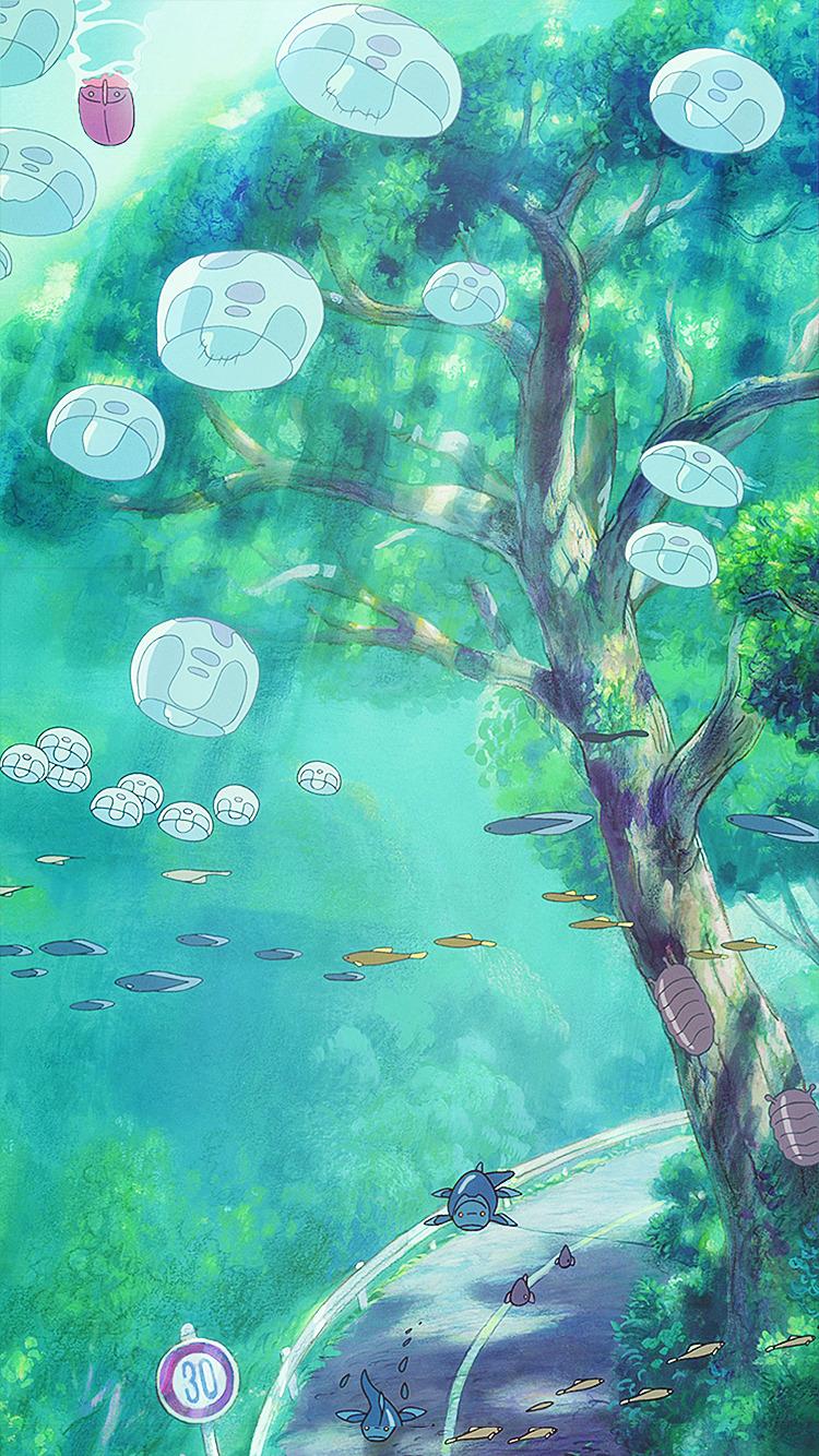 51 Ponyo Background On Wallpapersafari