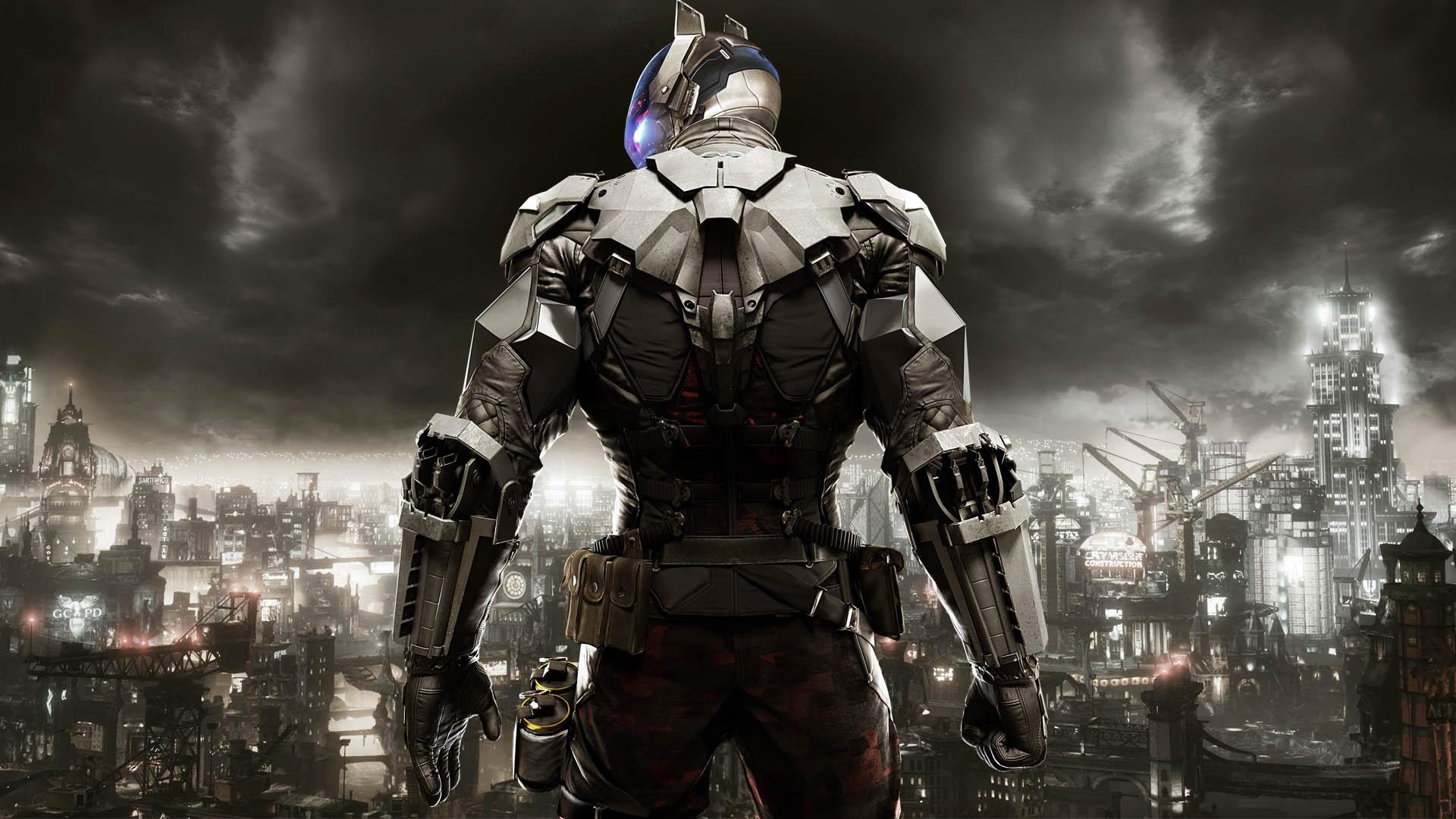 Batman: Arkham Knight, Villain, Armor, Soldier, Darkness wallpaper ...