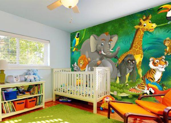 600x433px Wallpaper For Nursery Room Wallpapersafari