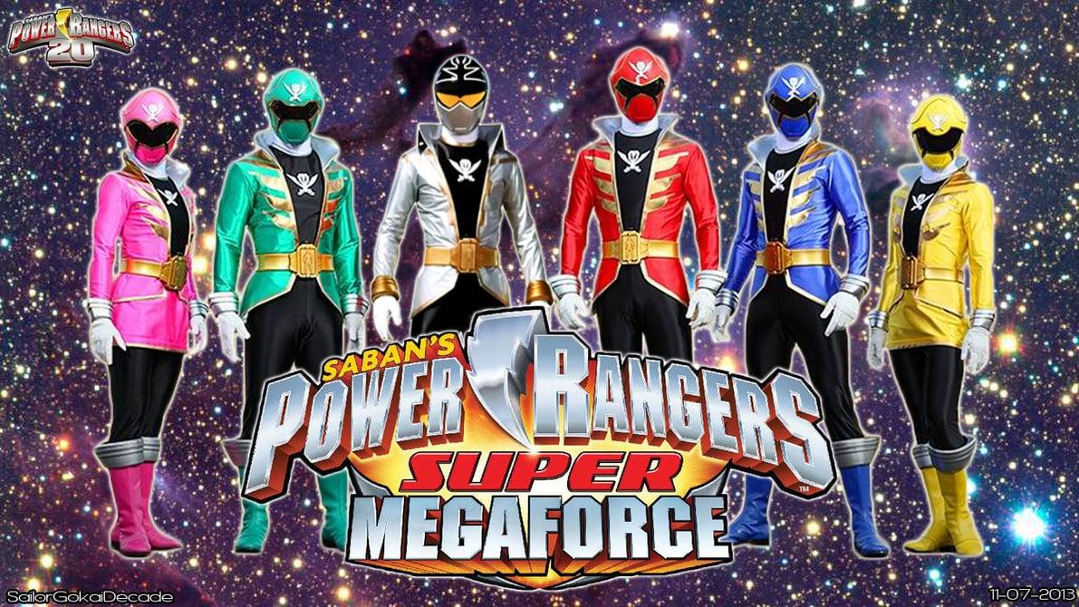 Free Download Power Rangers Super Megaforce Wp By Jm511 1191x670