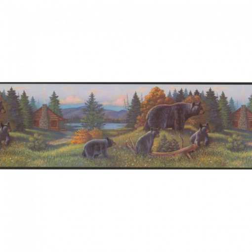 Lake Forest Lodge Black Bear Border 510x510