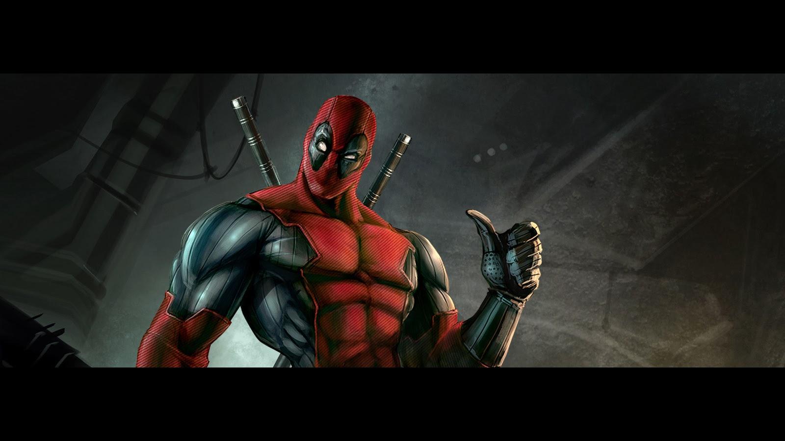Deadpool Marvel Comics HD Wallpaper 1600x900 a82 1600x900