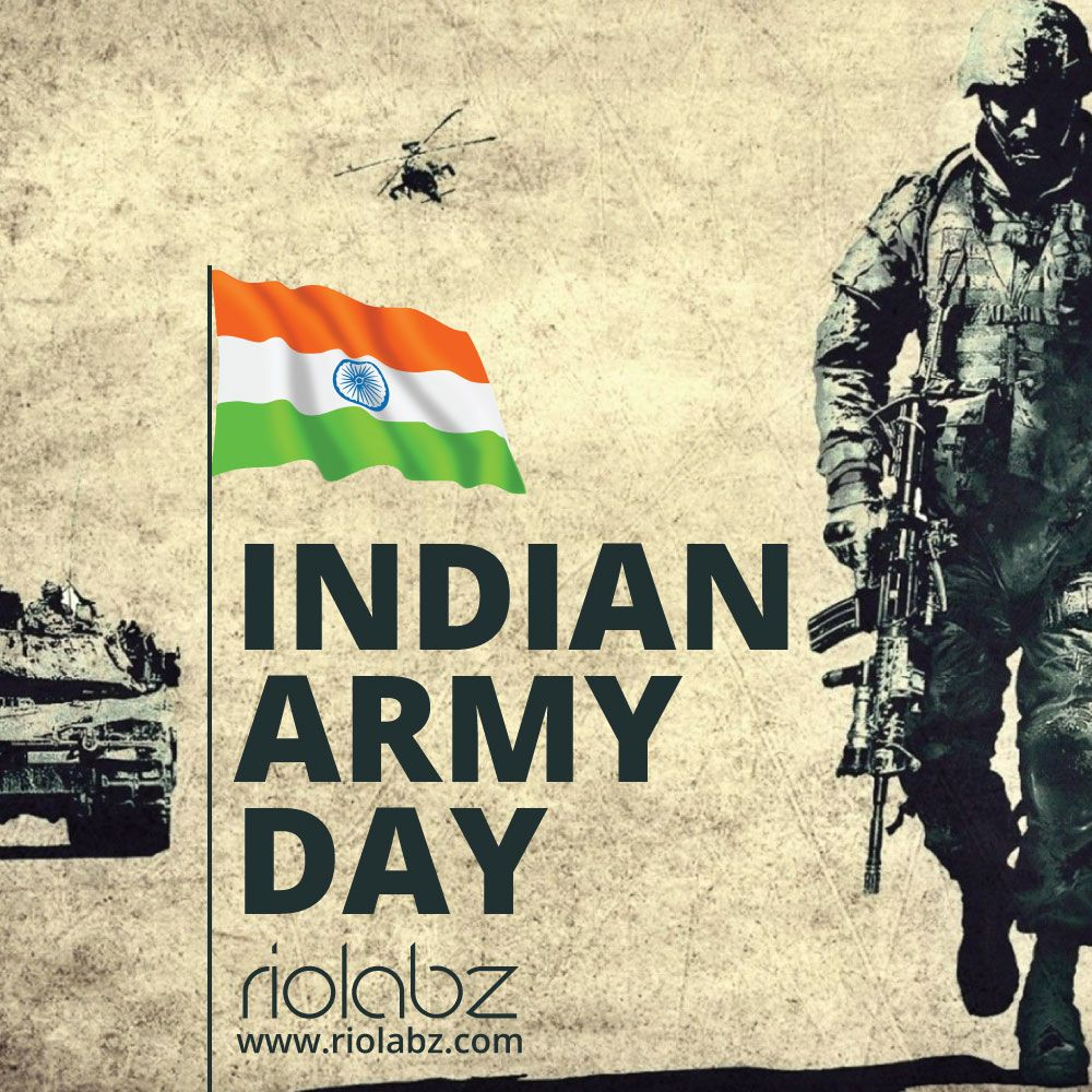 Web Design Mobile Development SEO Services Army day Indian 1000x1000
