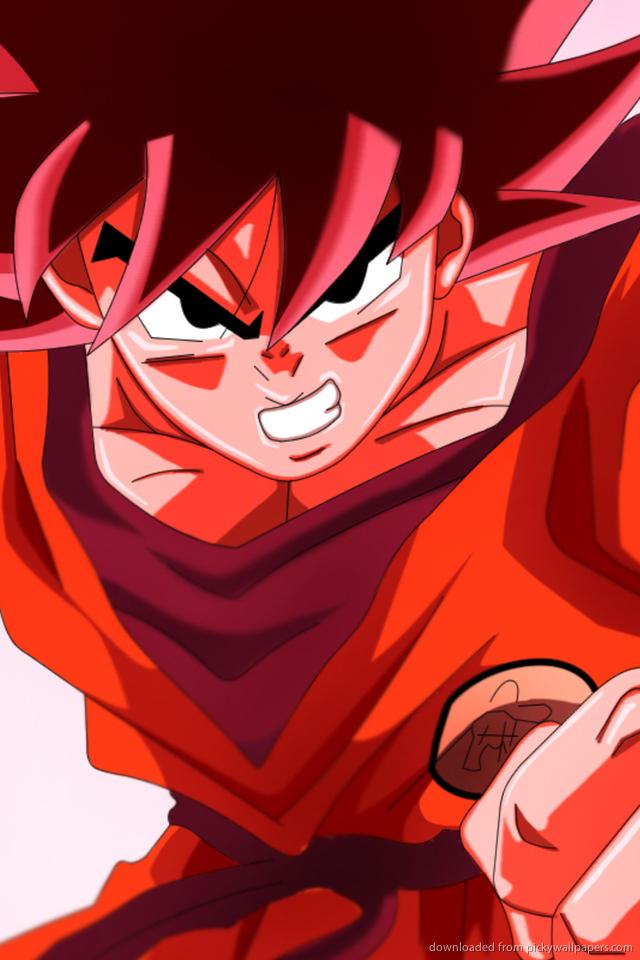 Goku phone wallpaper wallpapersafari - Dragon ball z live wallpaper iphone ...
