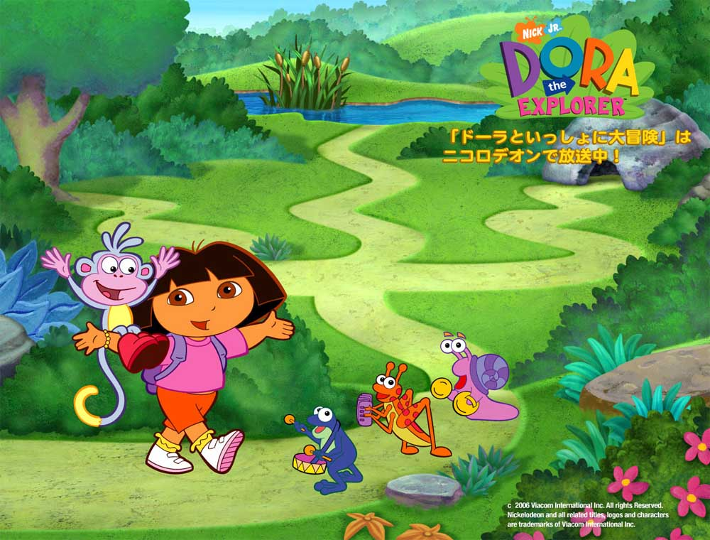 Top Cartoon Wallpapers Dora the Explorer Wallpaper Gallery 1000x760
