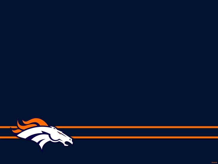 Broncos Wallpaper Nfl Blue Denver 736x552