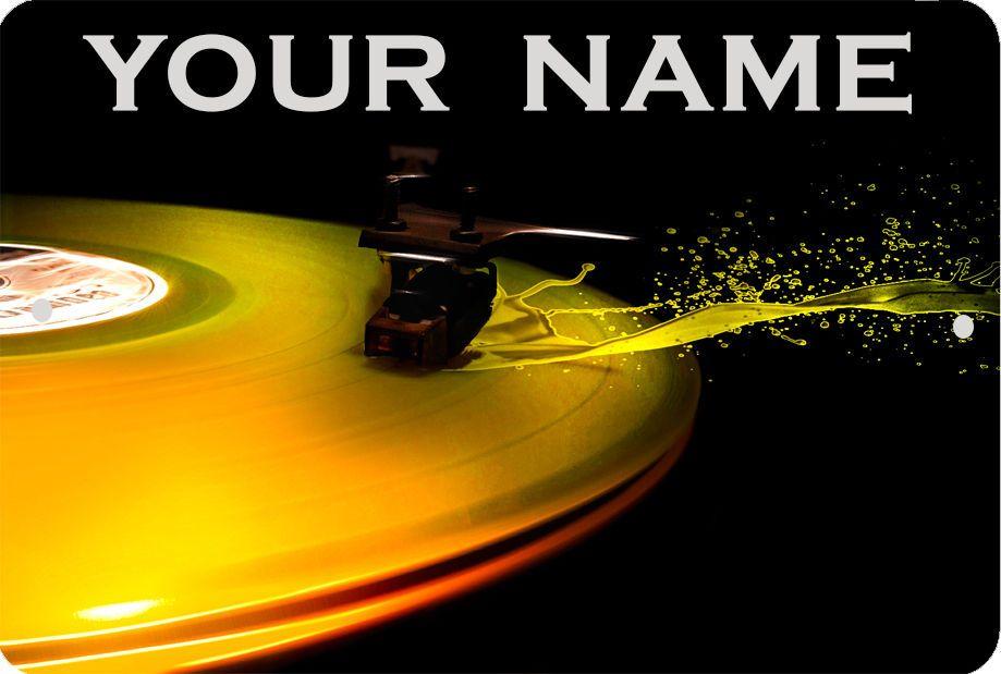 Details about DJ VINYL DISC LP PERSONALIZE Sign 8 x 12 MUSIC 919x619