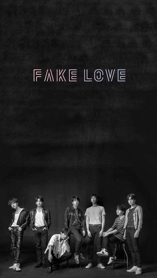 27 Bts Fake Love Wallpapers On Wallpapersafari