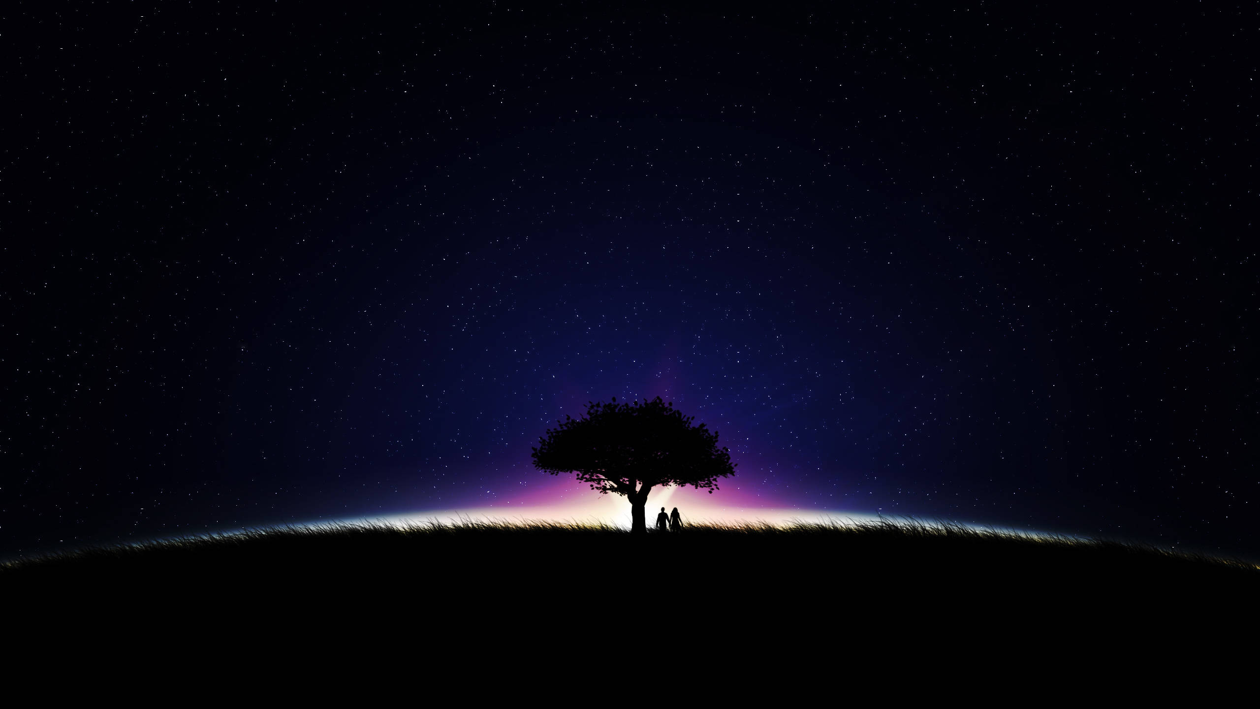 Silhouette 25601440 Wallpaper 902095 2560x1440