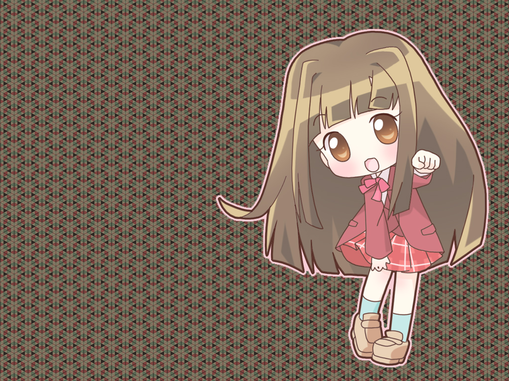Cute Chibi Wallpapers 1024x768