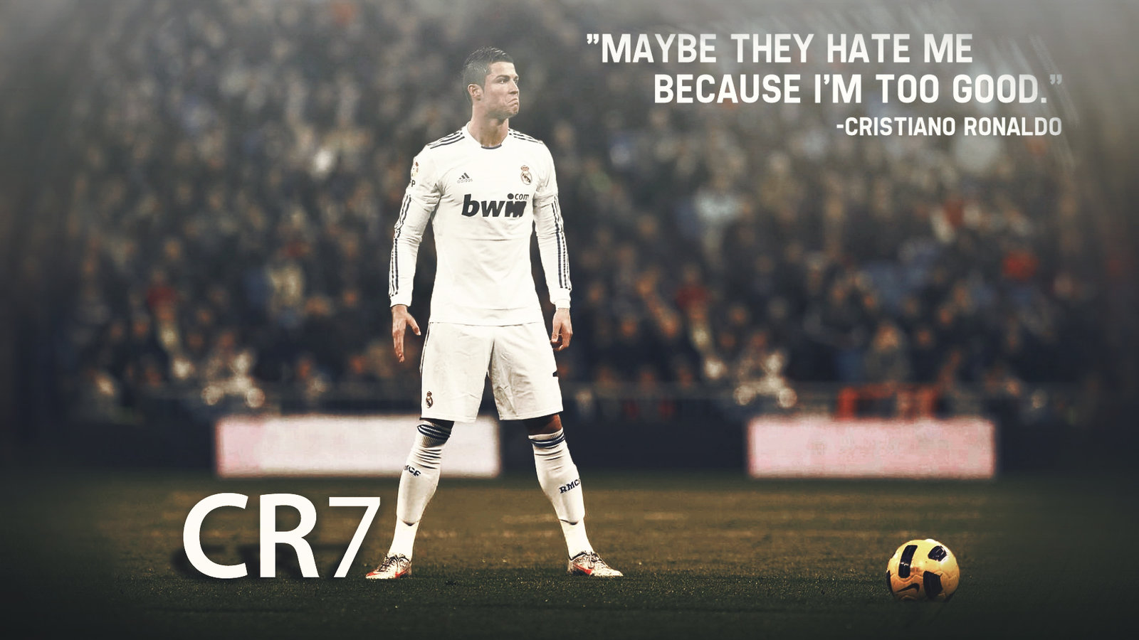cr7 wallpaper sade by dreamgraphicss on deviantart 1600x900