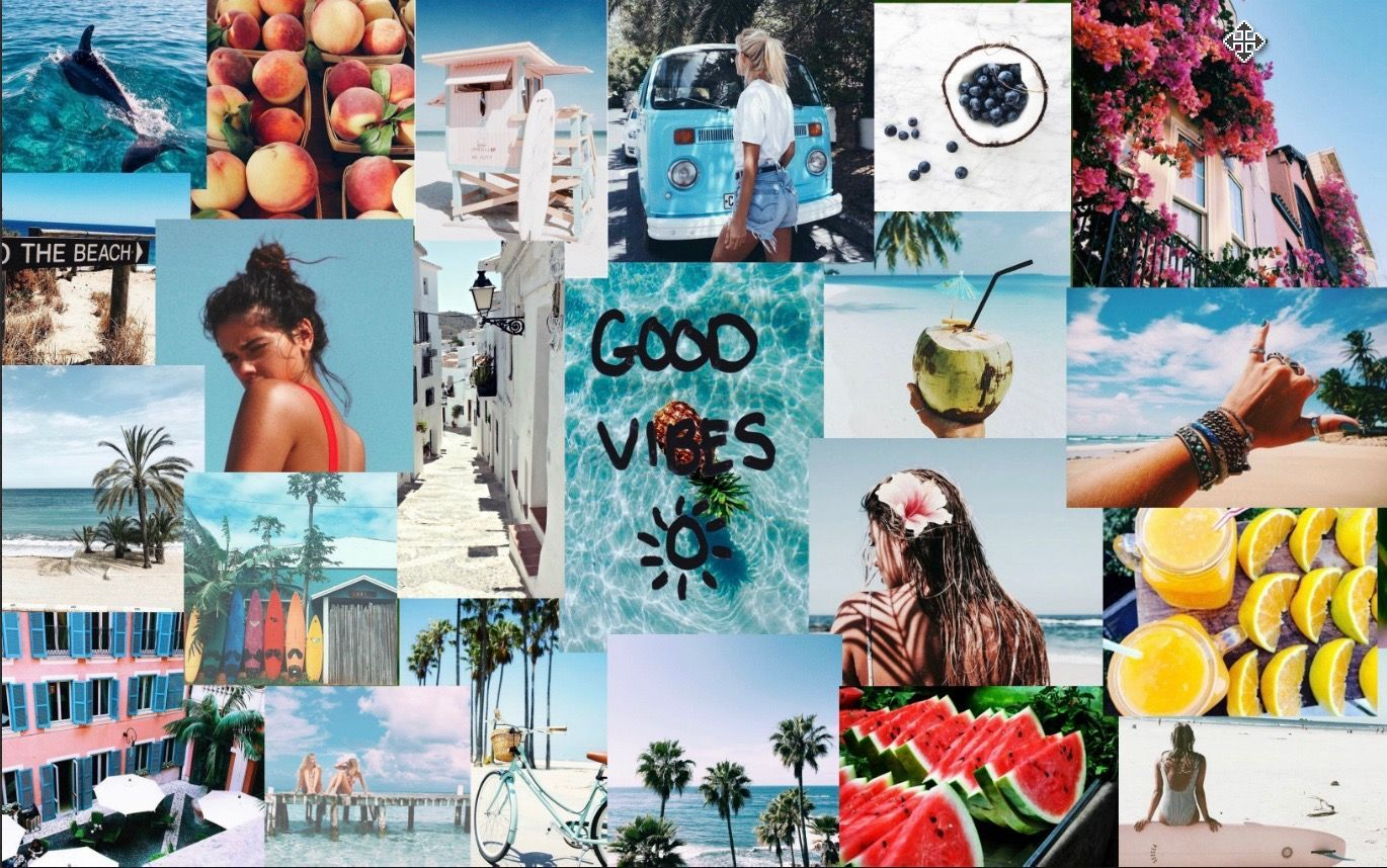 Aesthetic Collage Desktop Wallpapers   Top Aesthetic Collage 1370x858