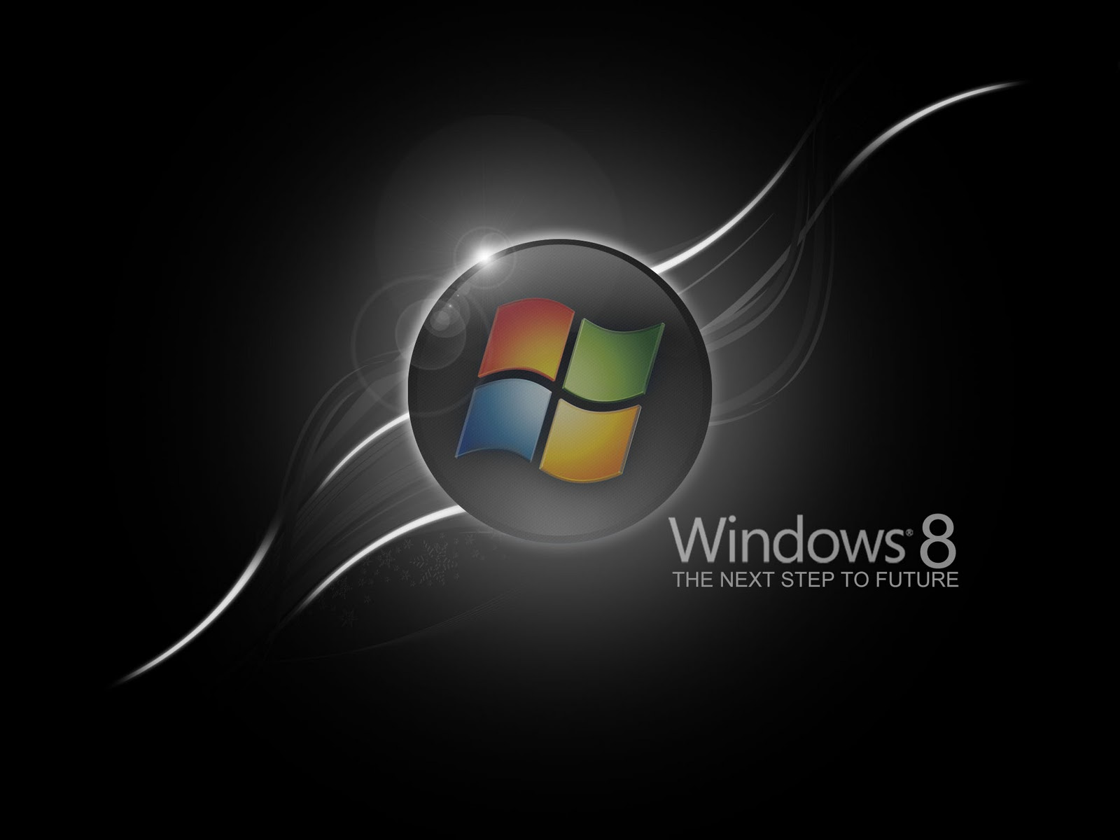 Windows 8 Black and Dark HD Wallpapers Wallpapers pictures images 1600x1200