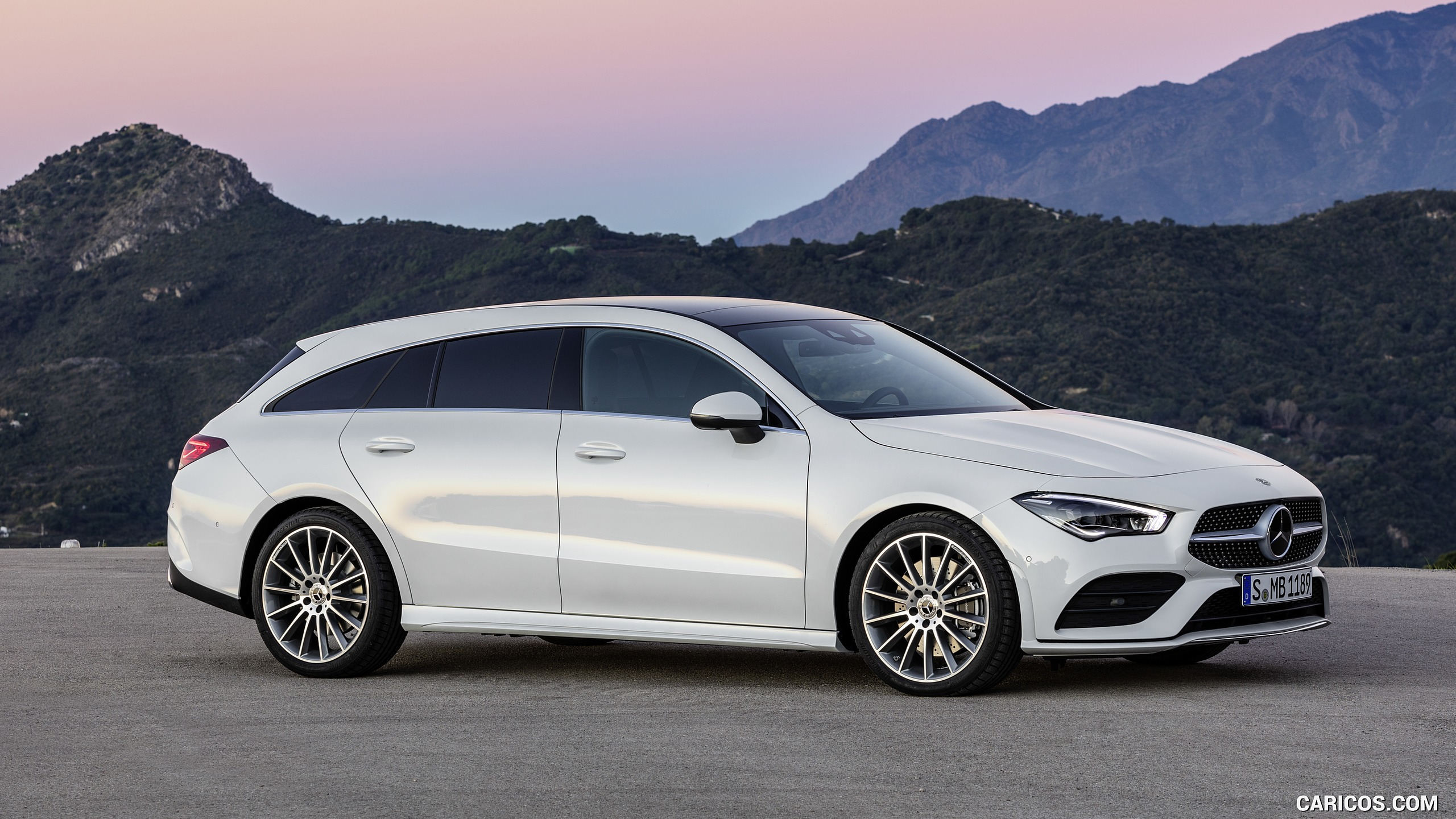 2020 Mercedes Benz CLA Shooting Brake AMG Line Color Digital 2560x1440
