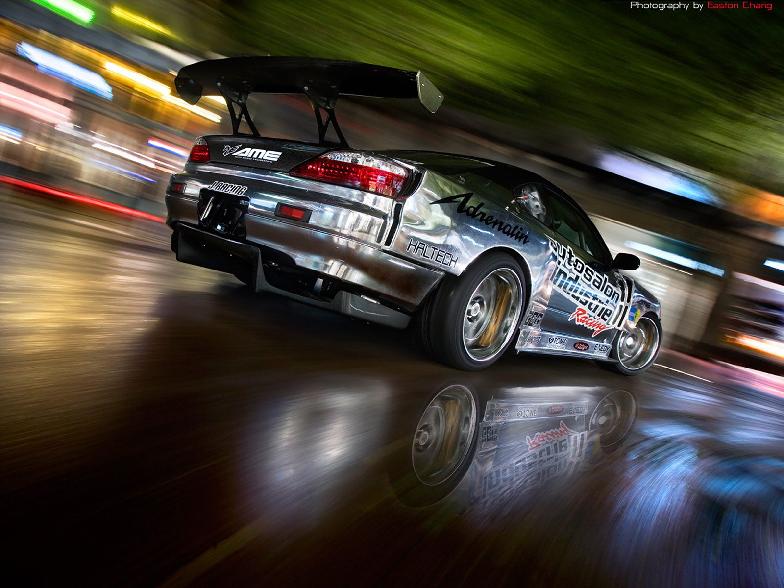 Subaru drifting wallpaper