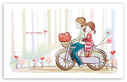 Cute Valentine Couple HD wallpaper for Standard 43 54 Fullscreen 510x330