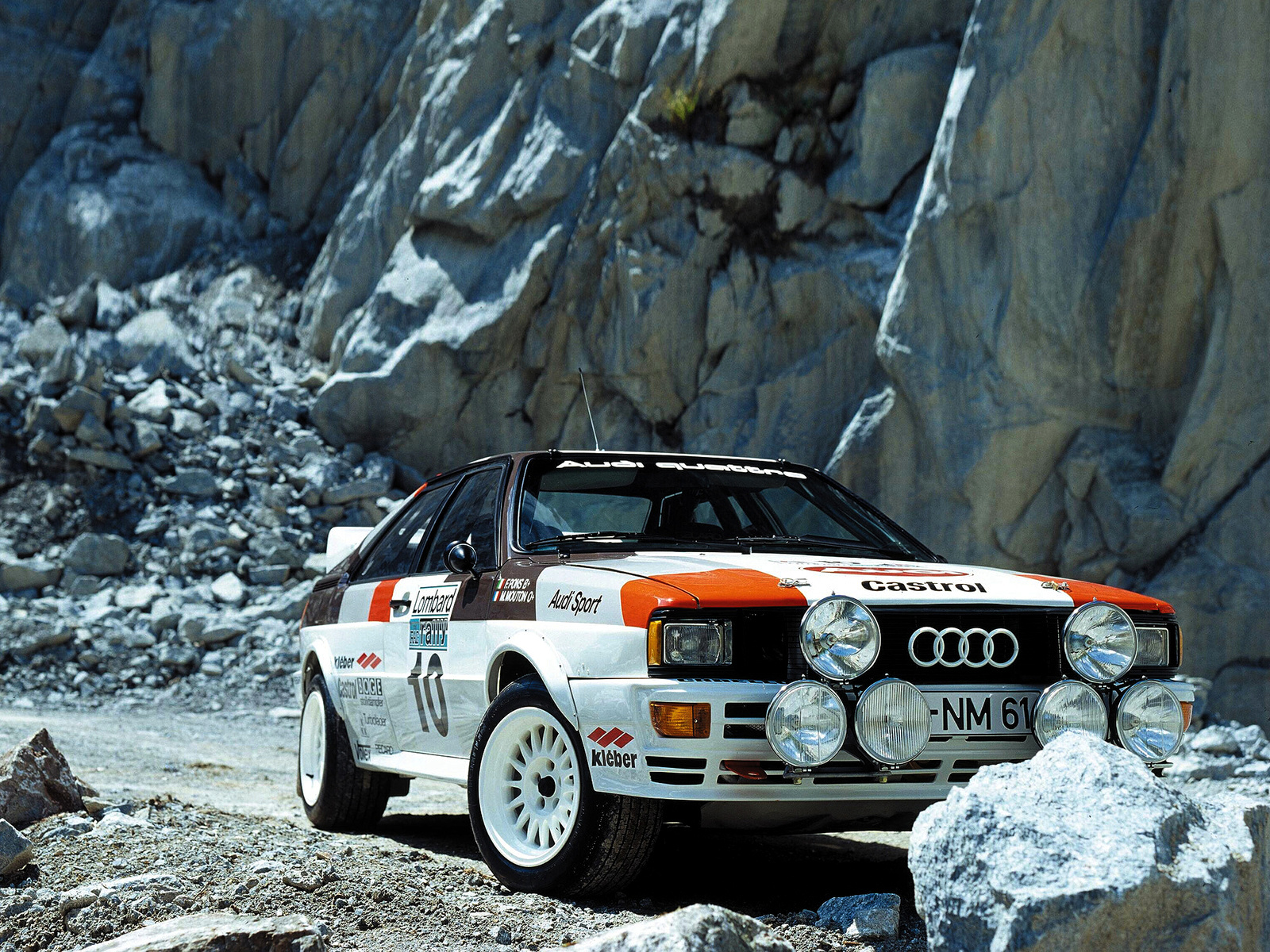 Audi Quattro Group 4 Rally Car Wallpapers Cool Cars Wallpaper 1600x1200