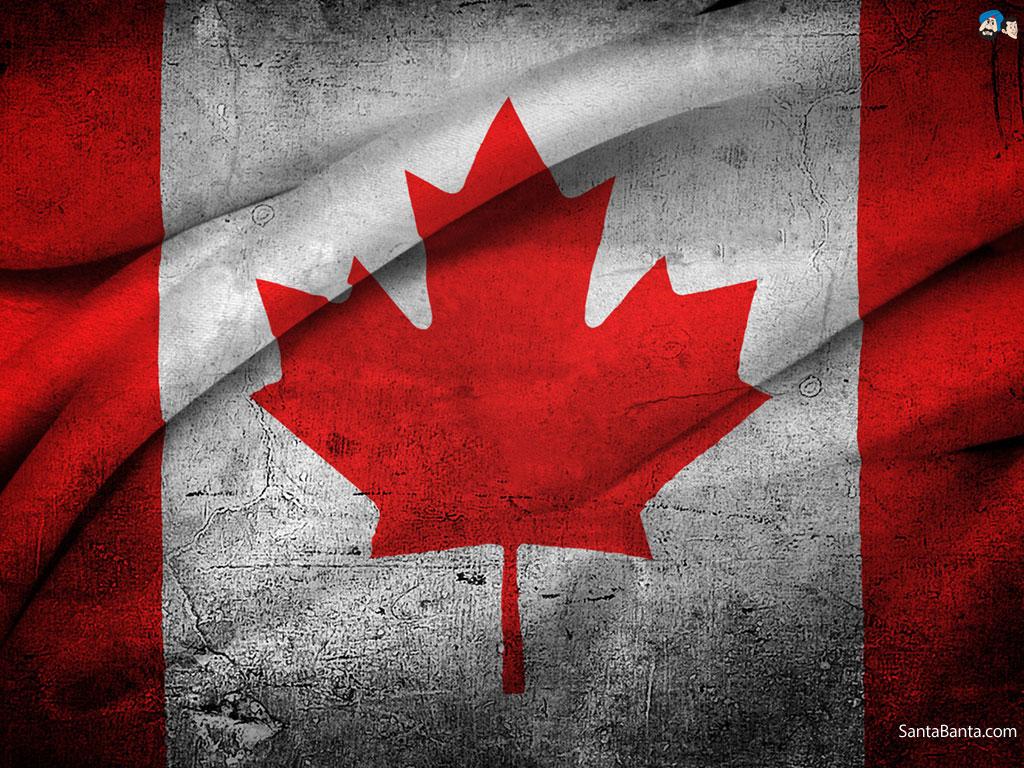 Canadian flag wallpaper wallpapersafari - Canada flag background ...