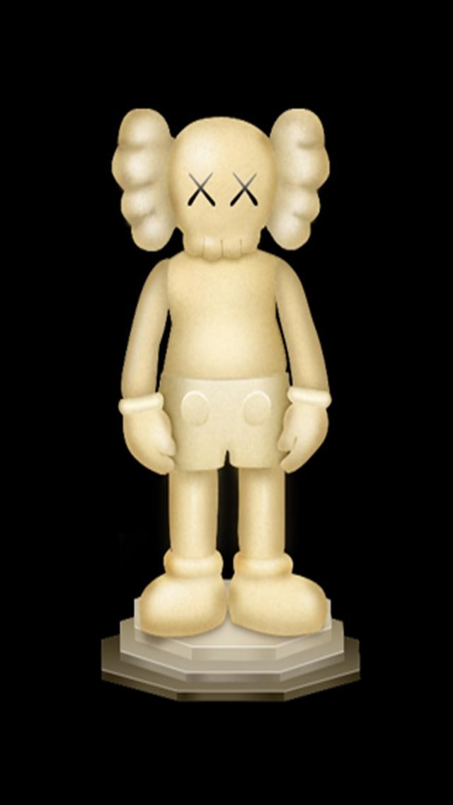 Kaws Iphone Wallpaper Kaws iphone statue hd iphone 640x1136