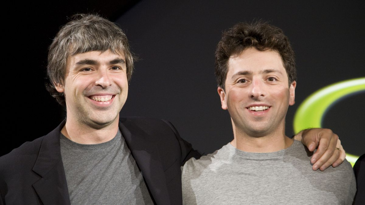 Google co founders Larry Page and Sergey Brin a timeline of their 1200x675