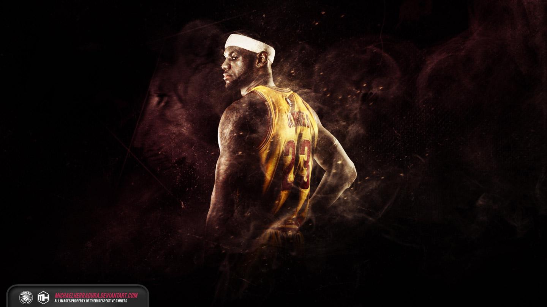 Wallpapers   LeBron James Cavaliers 2015 wallpaper 1440x810
