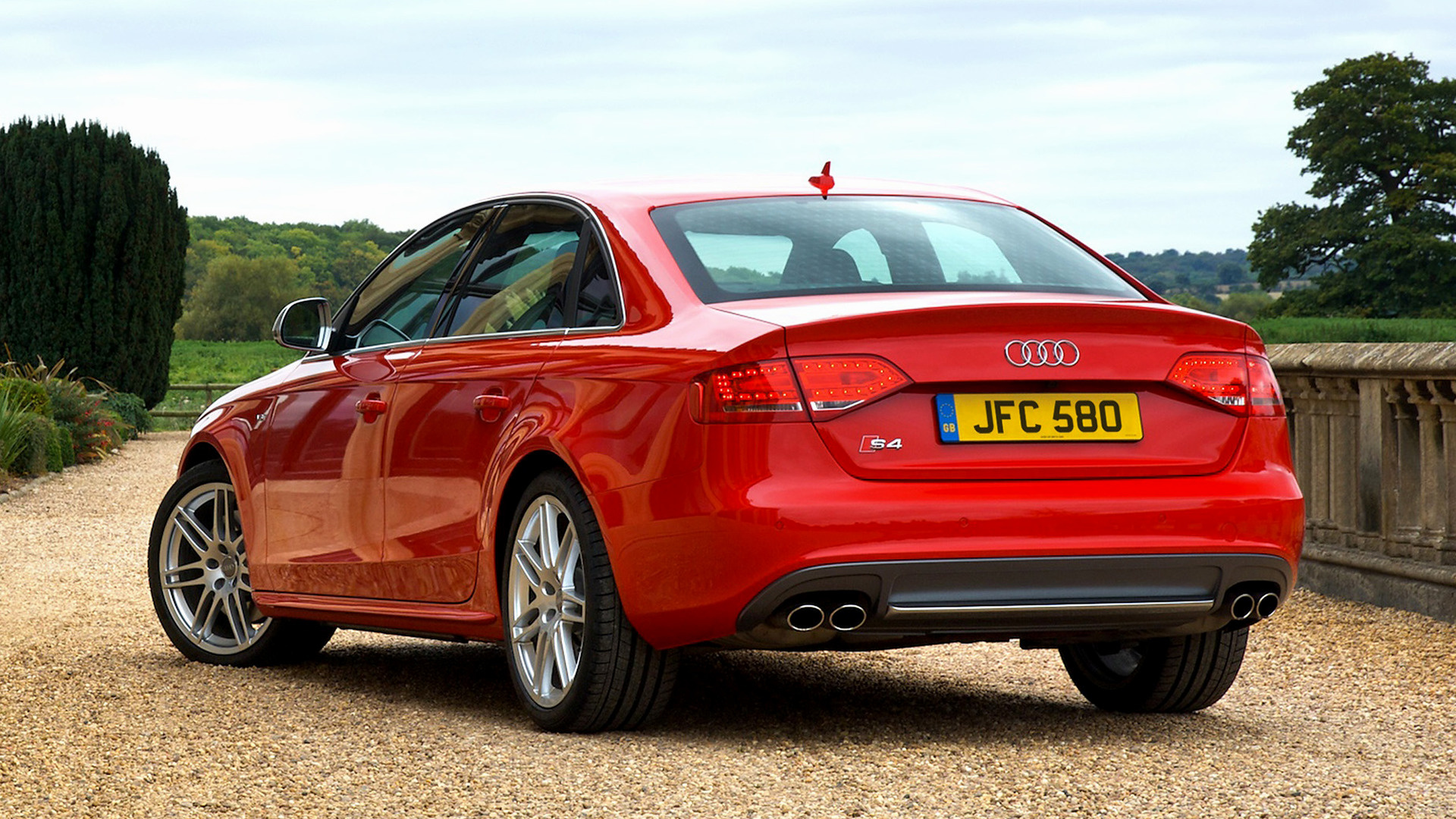 Audi S4 Saloon 2009 UK Wallpapers and HD Images 1920x1080
