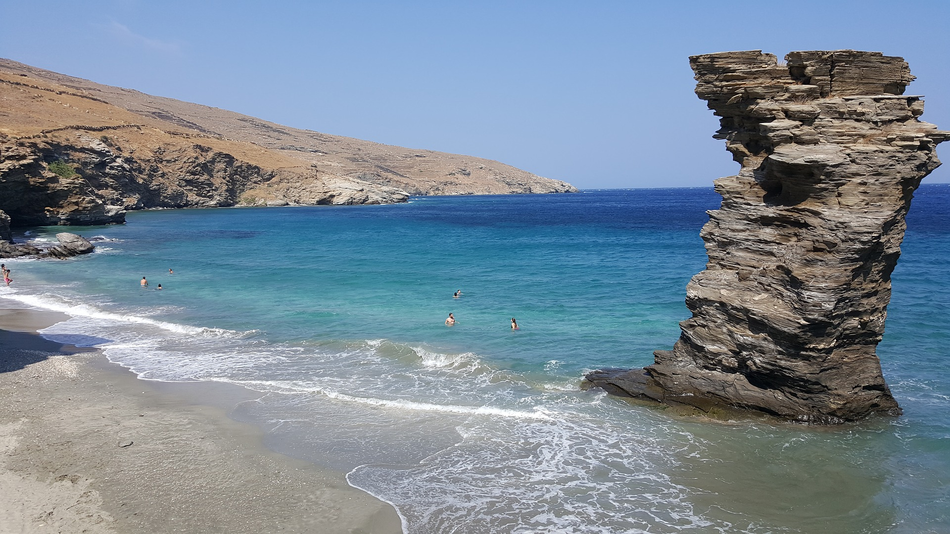 Andros island with kids Guide for summer holidays in Greece 1920x1080
