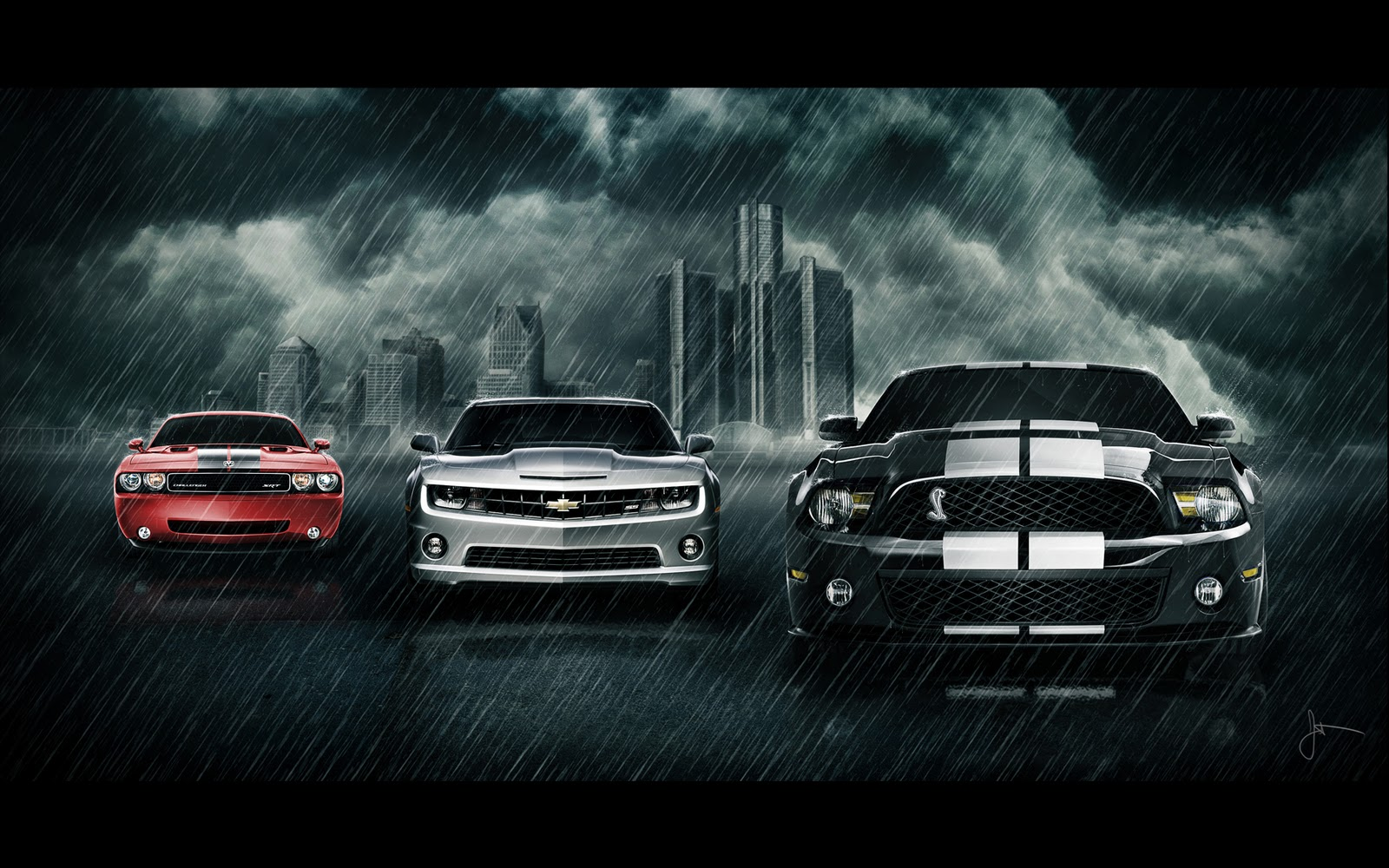 Cars Wallpapers And Pictures Classic Muscle Cars Wallpaper 1600x1000