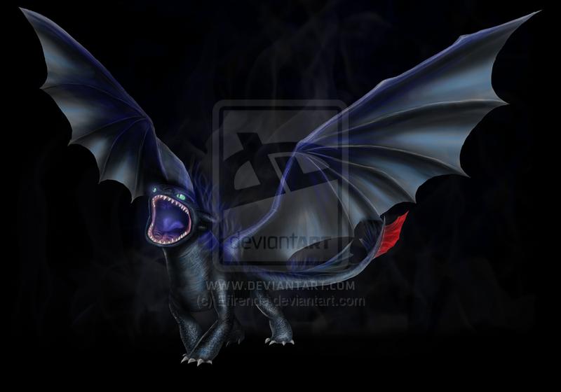 Wallpaper Alpha Toothless Dragon