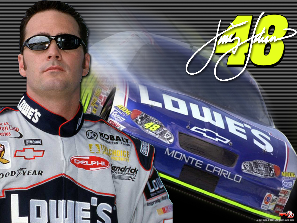 Jimmie Johnson NASCAR race car driver 1024x768