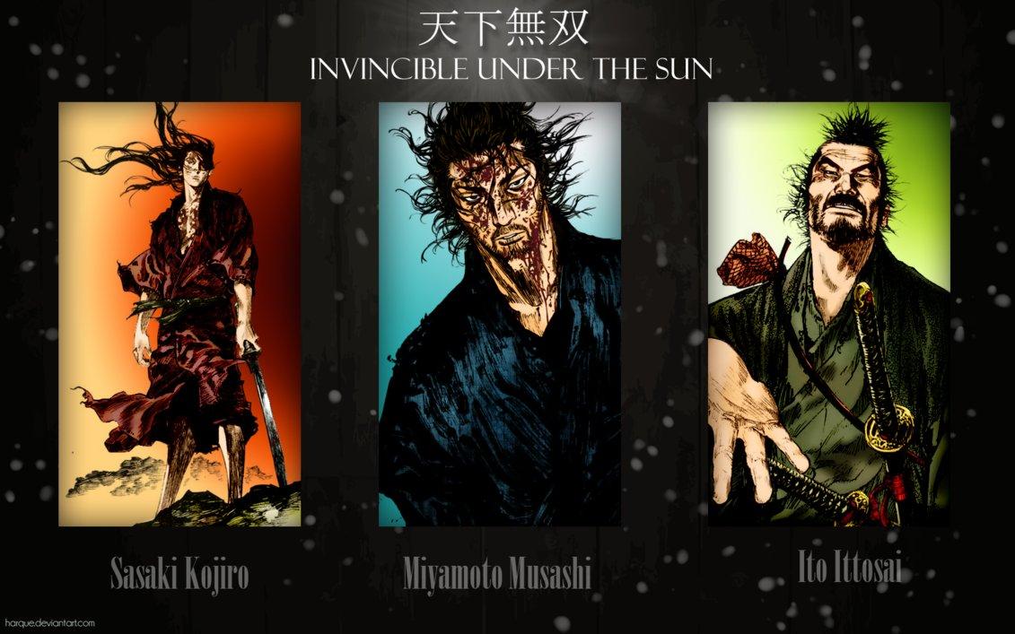 Vagabond Wallpaper   Invincible under the sun by Harque 1131x707