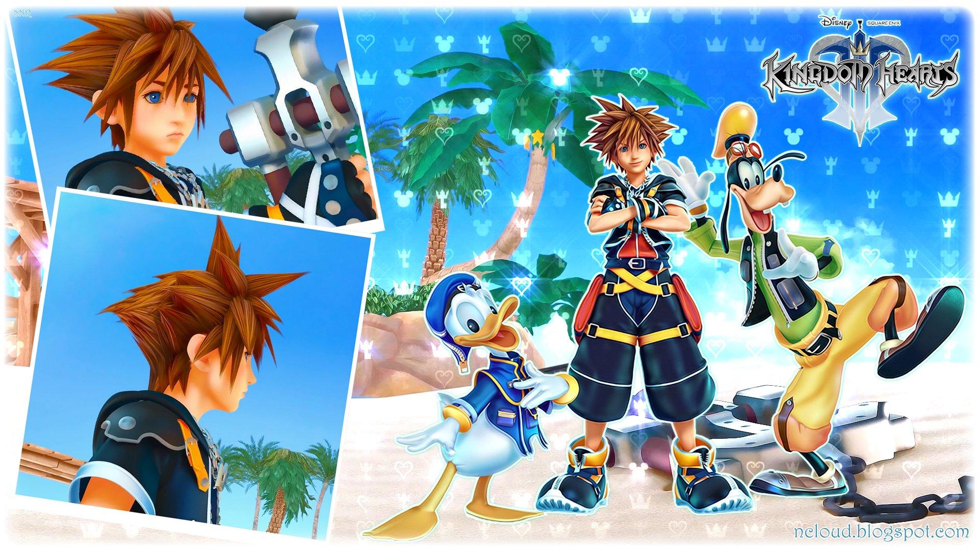 Games Movies Music Anime My Kingdom Hearts 3 Wallpaper 1920x1080
