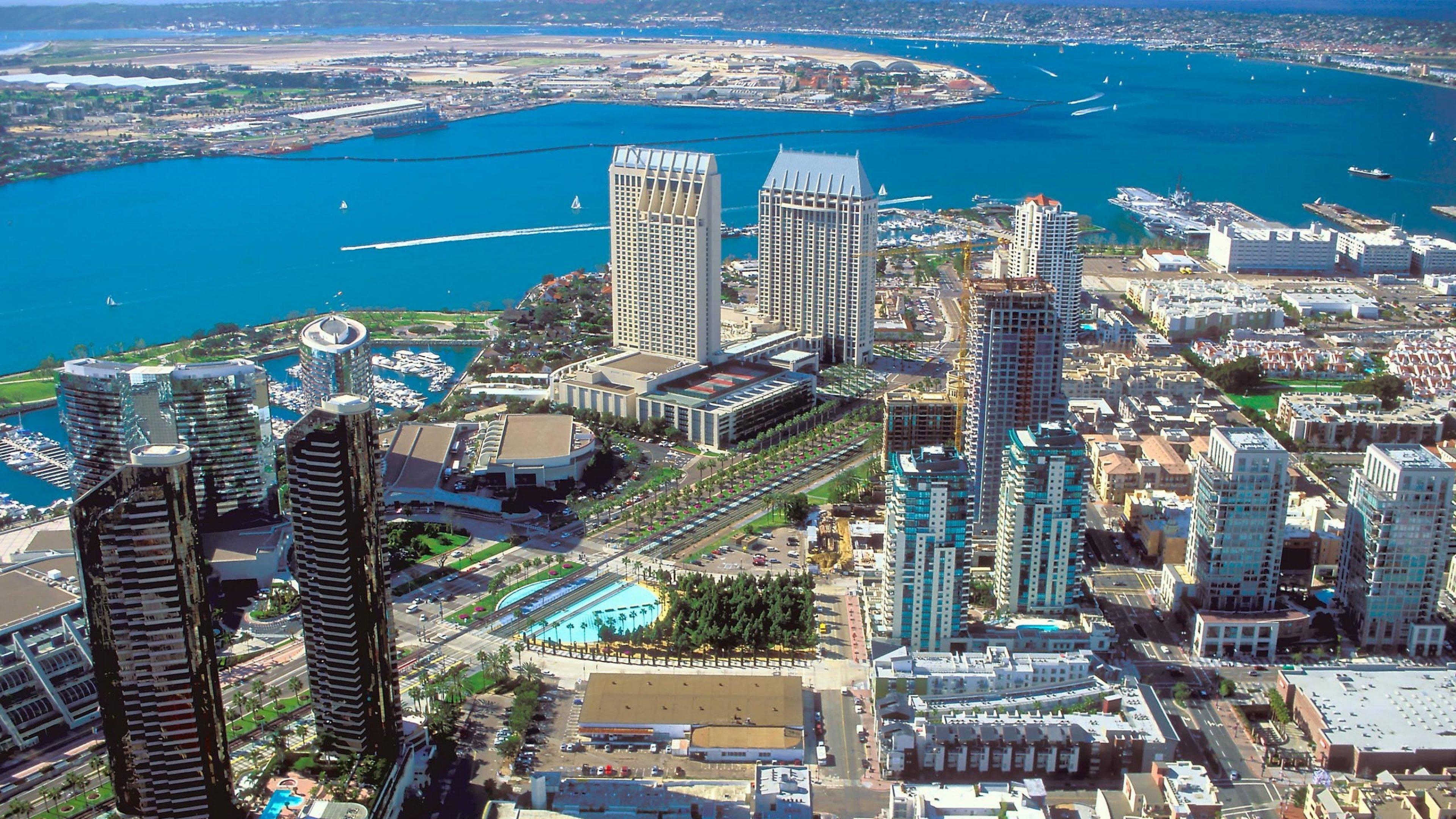 San Diego City Widescreen Wallpaper 14131 3840x2160   uMadcom 3840x2160