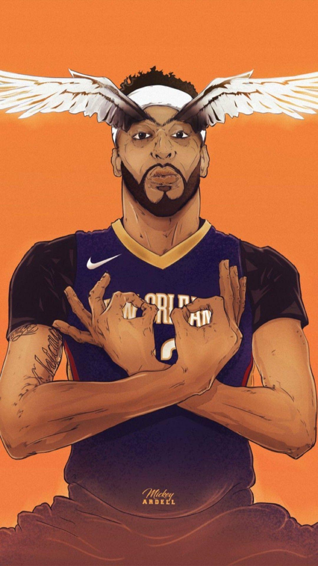 Anthony Davis Wallpaper BASKETBALL Bryant basketball Nba 1080x1920