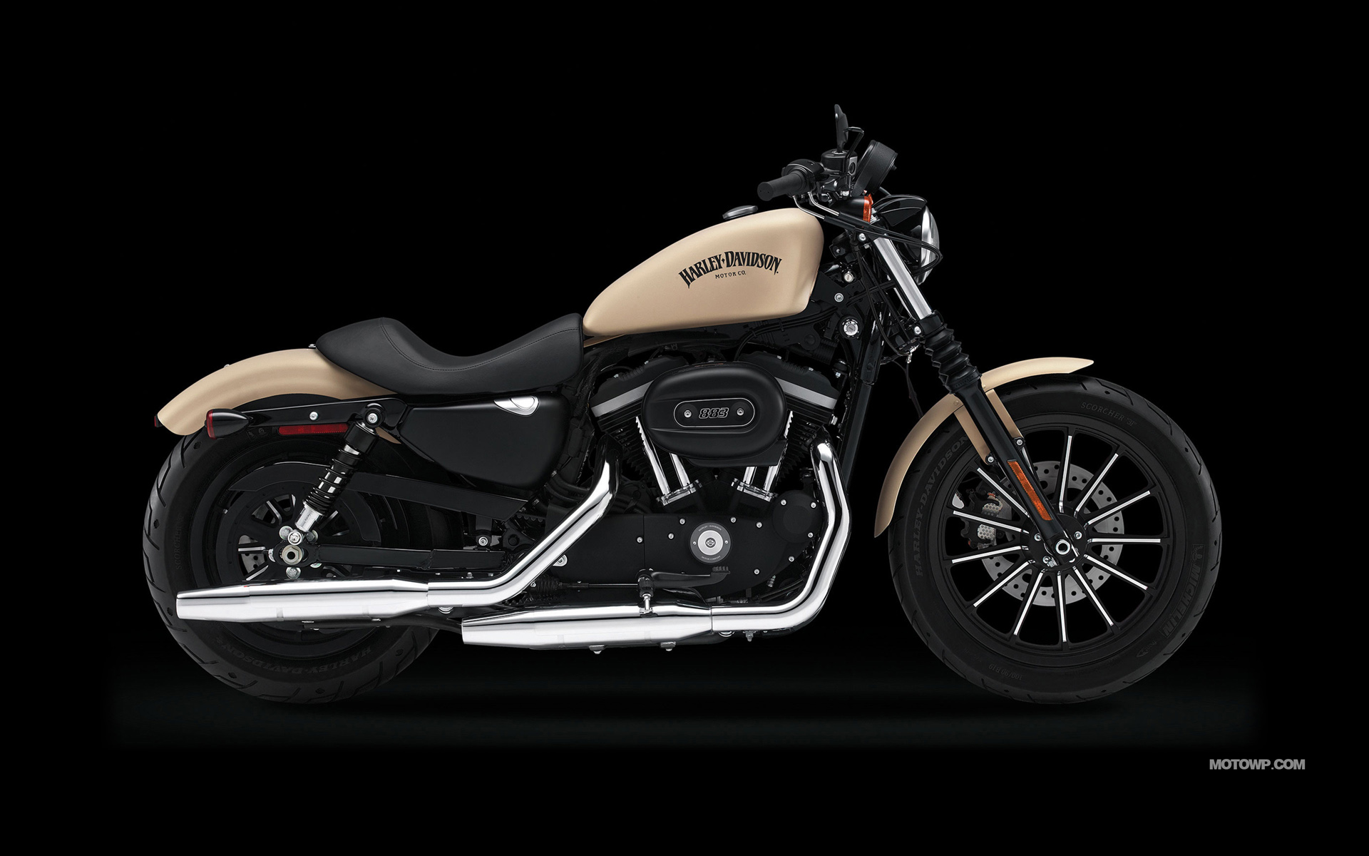 Motorcycles desktop wallpapers Harley Davidson Sportster 1920x1200