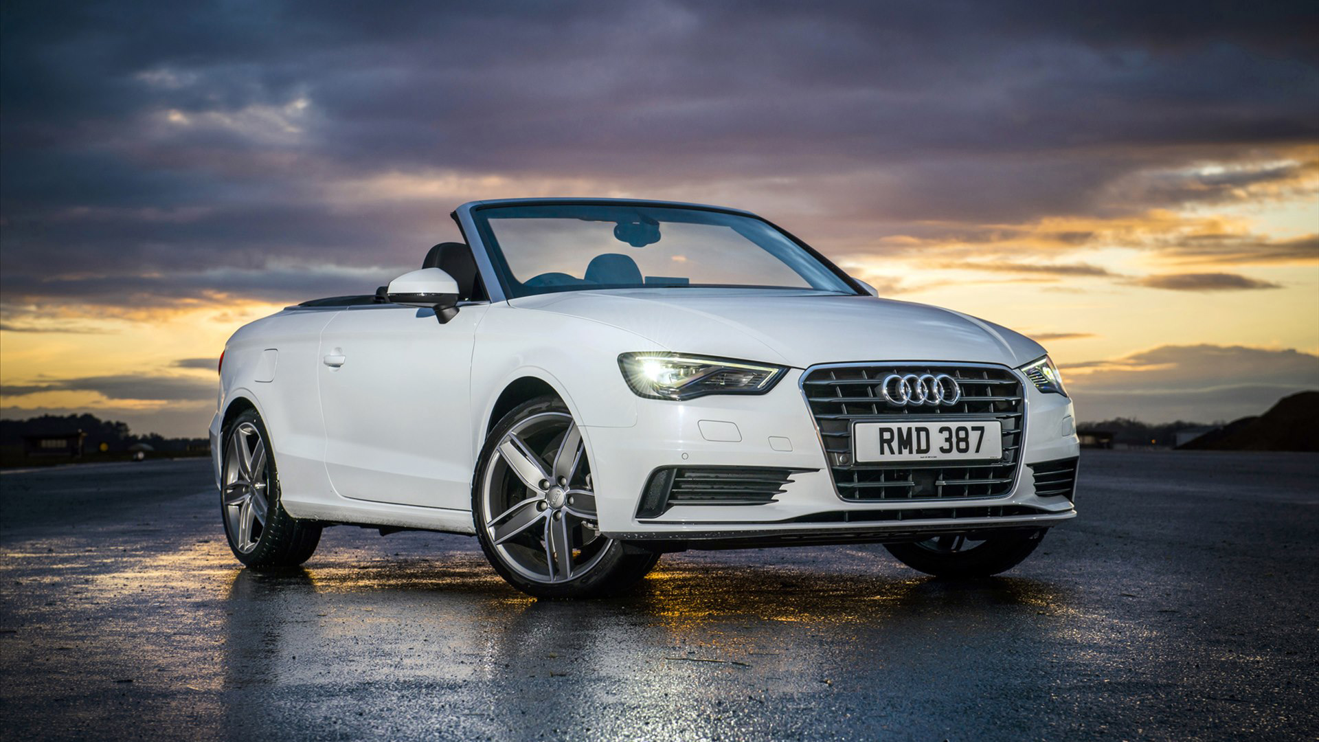 2015 Audi A3 Cabriolet Sport Wallpaper HD Car Wallpapers 1920x1080