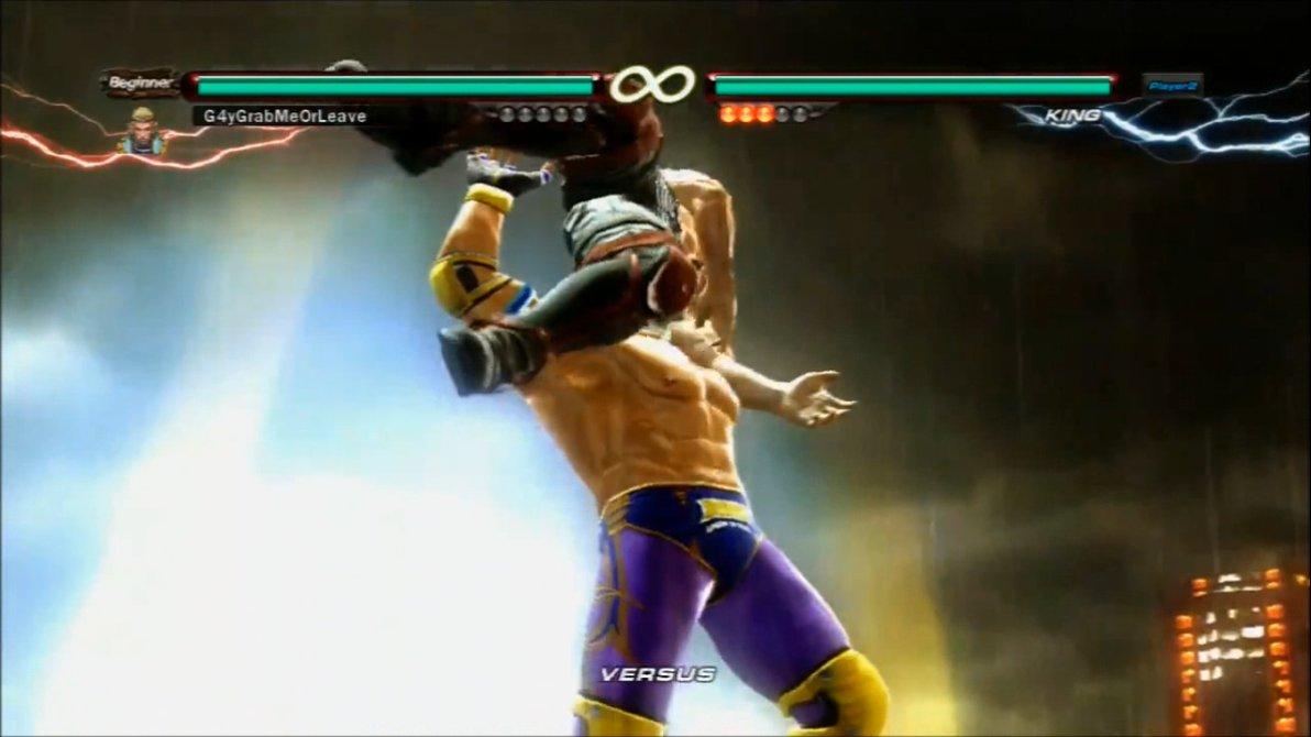 Free download Tekken 6 King grabs Lars [animated] by
