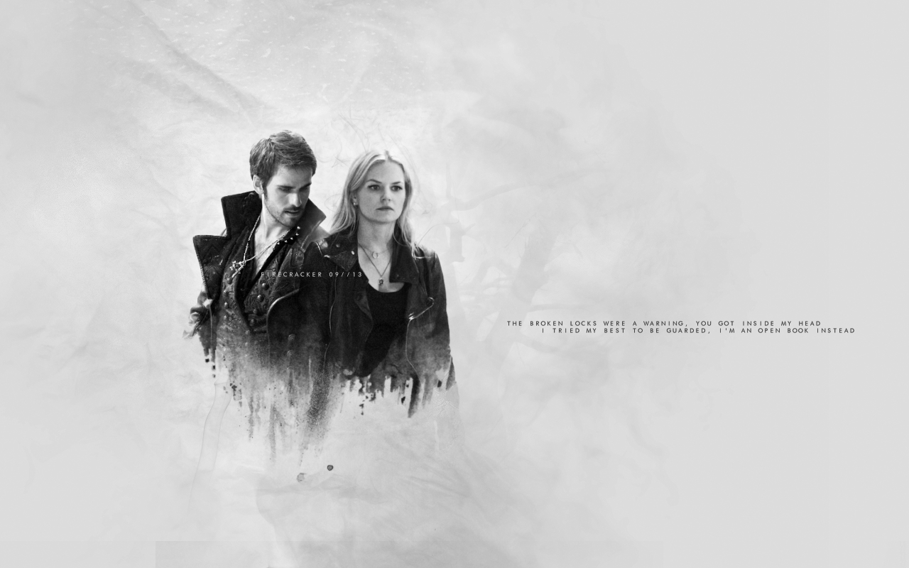 Captain Hook and Emma Swan images HookEmma HD wallpaper and 1280x800