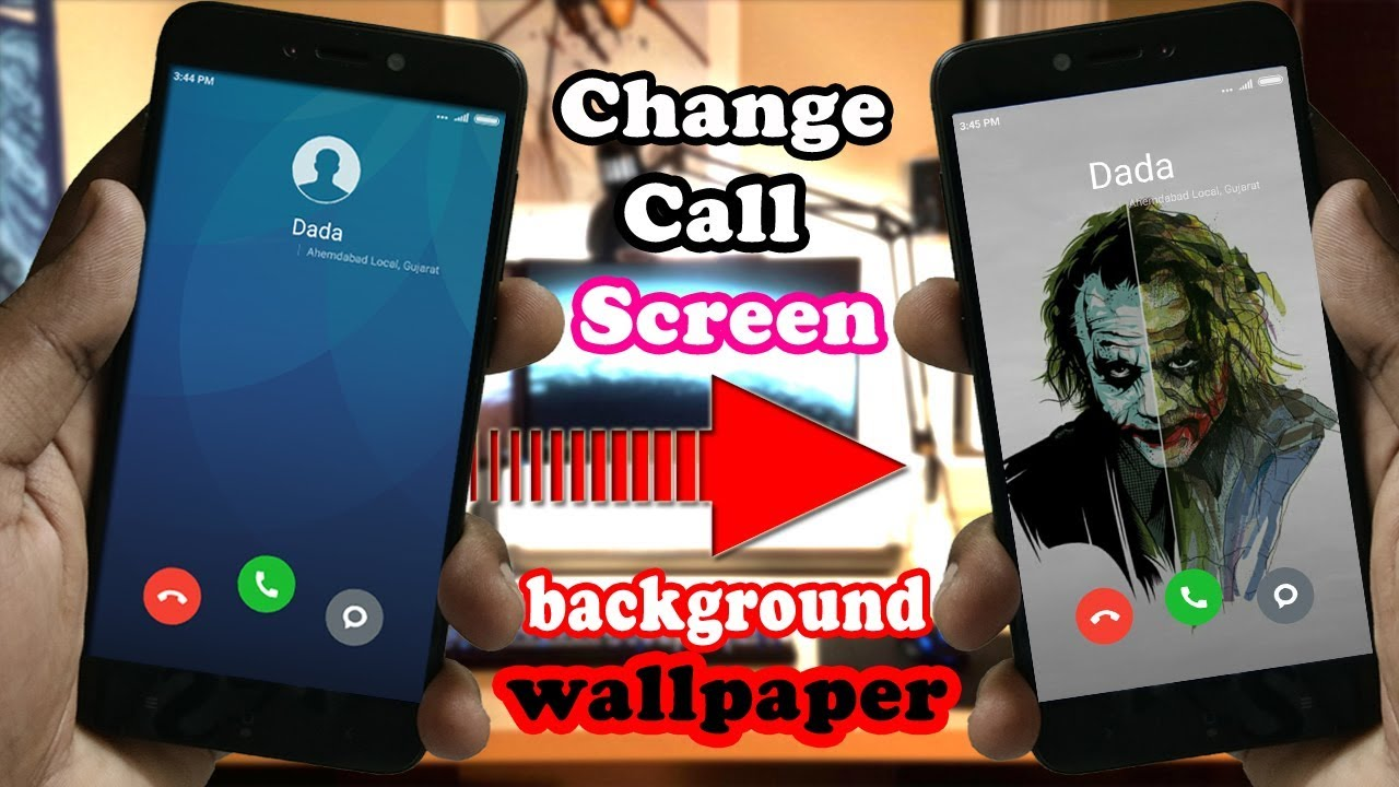 Trick To Change Call Screen Background Wallpaper in Any Xiaomi 1280x720