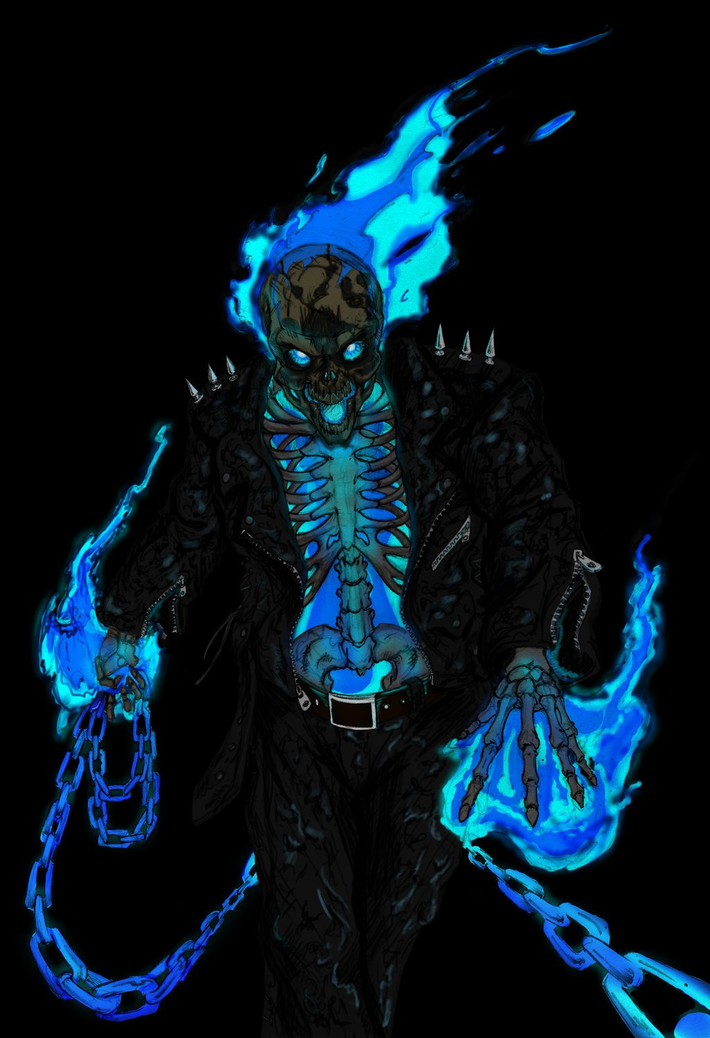 Danny Ketch Ghost Rider by ConstantM0tion 1024x1496