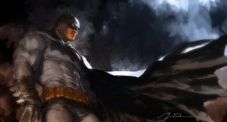 Batman Frank Miller Wallpaper Batman the dark knight 750x405