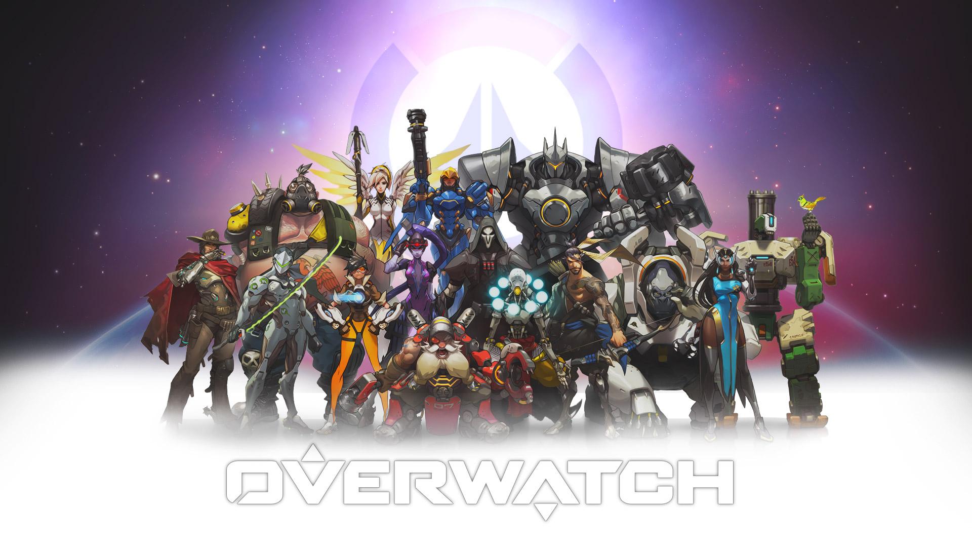 Download Wallpapers Overwatch Characters Wallpaper 1920x1080 46