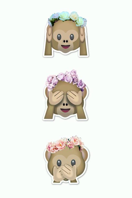 emoji flowers Tumblr 500x750