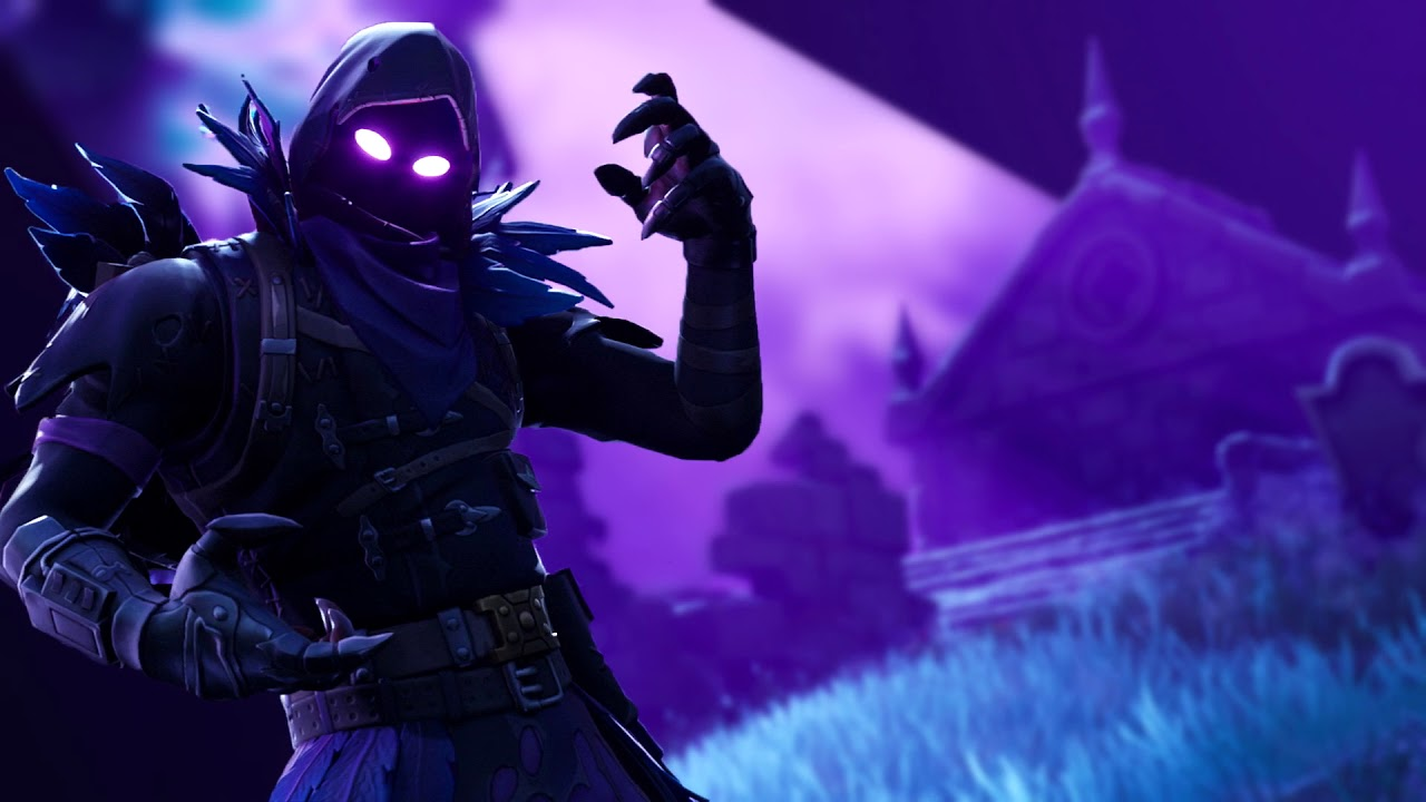 Fortnite Animated Wallpaper   The Raven [Blurred Background] 1280x720