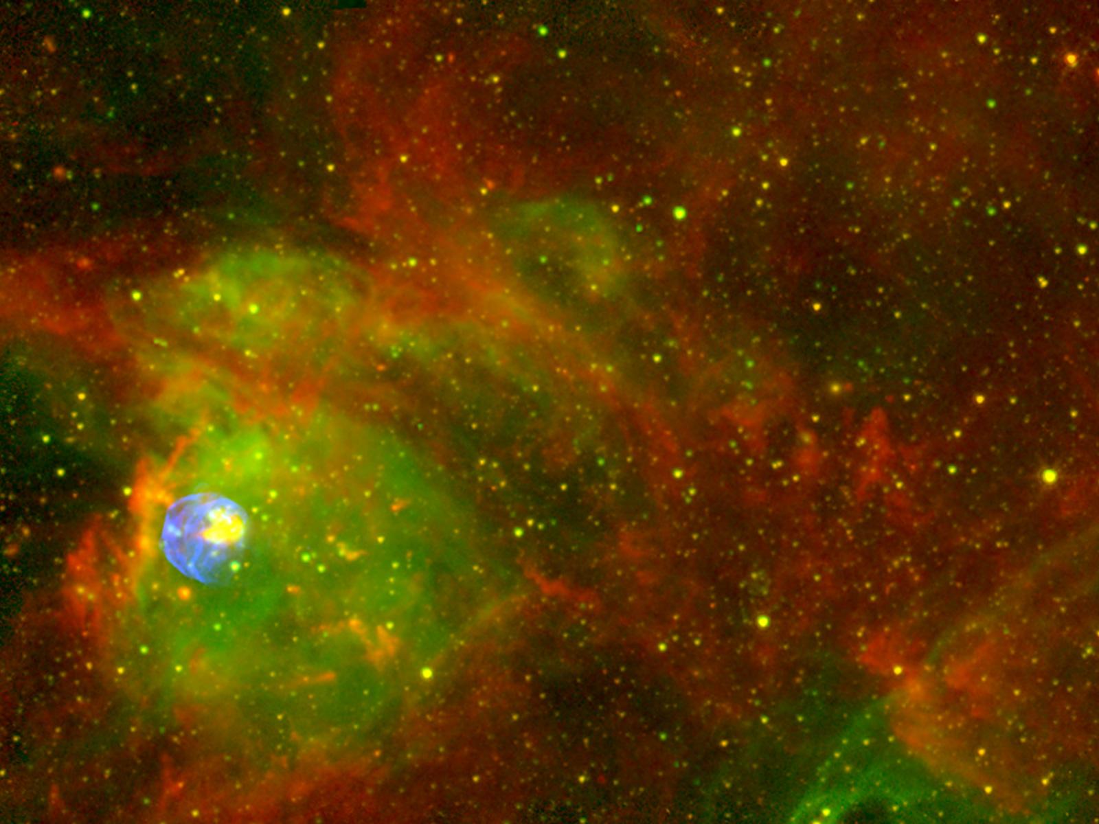Space Hubble Wallpaper 1600x1200
