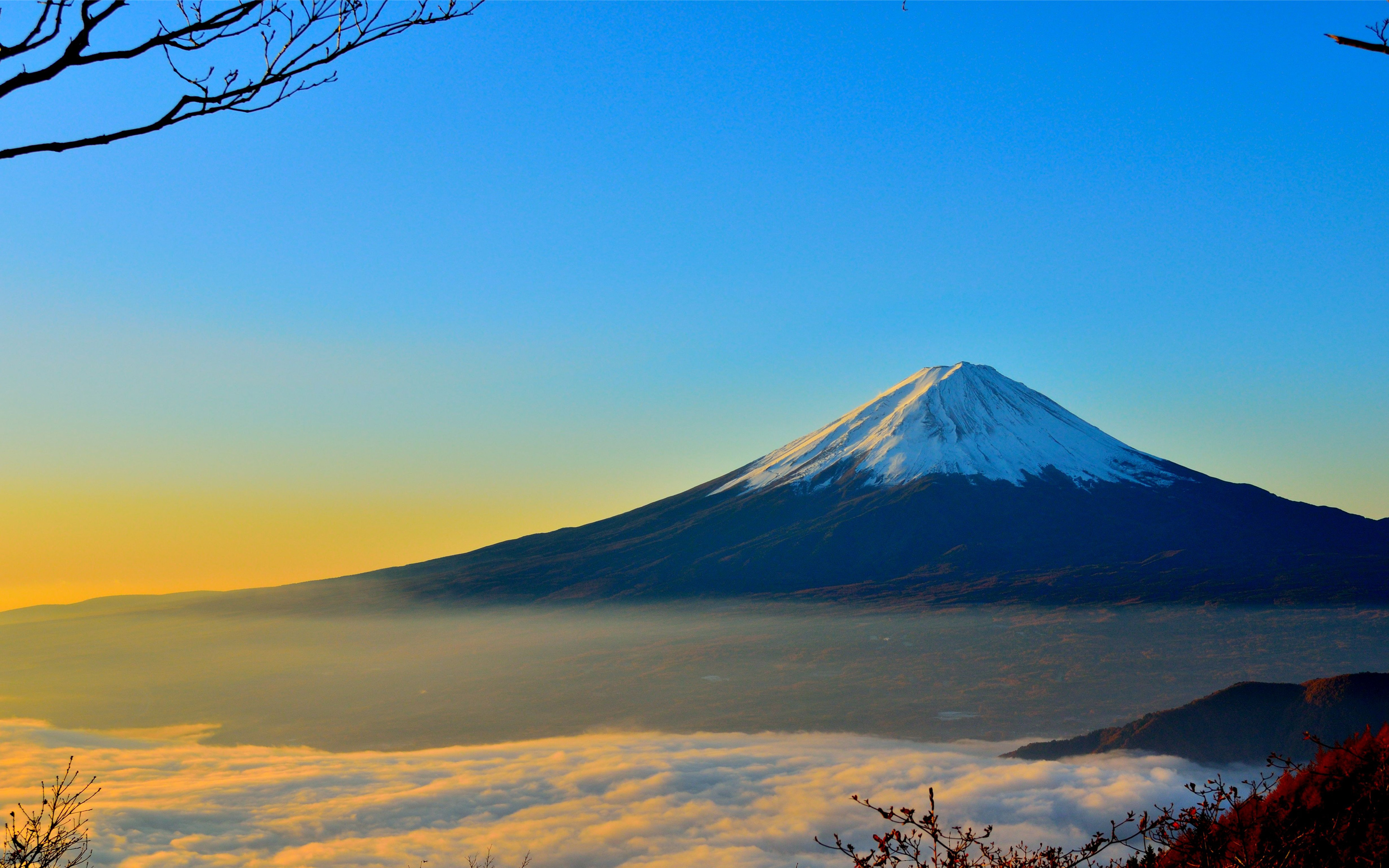 Mount Fuji Wallpapers and Background Images   stmednet 2880x1800